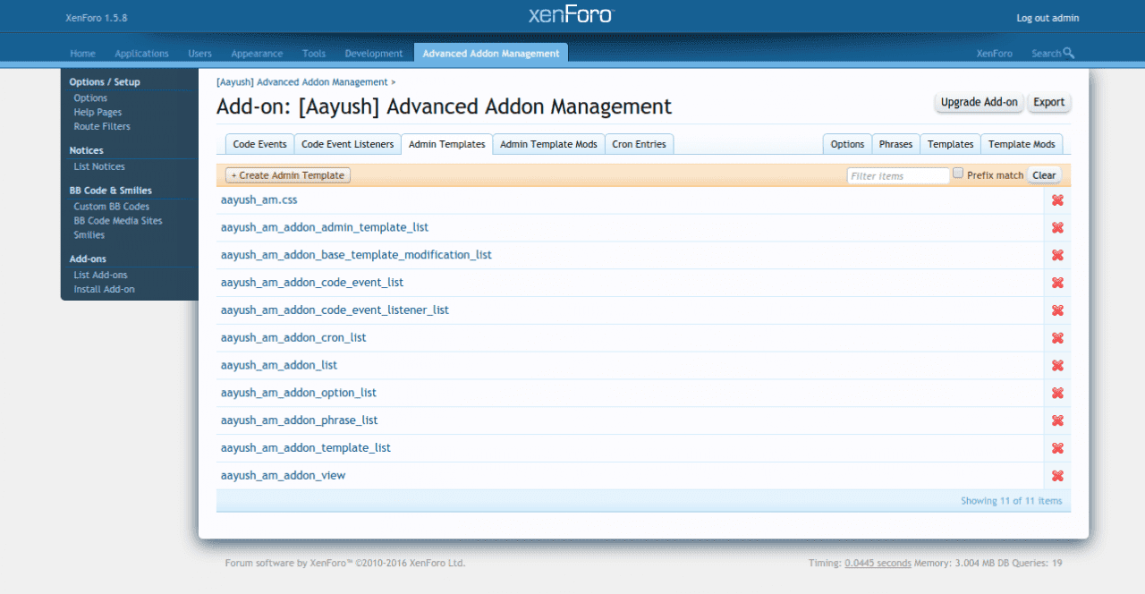 Add on   Aayush  Advanced Addon Management   Admin CP   XenForo.png